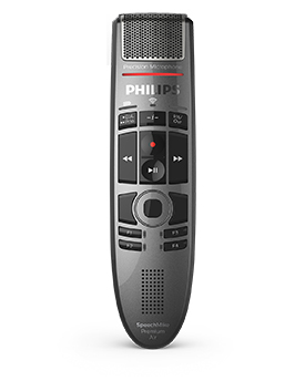 Philips SMP4000 SpeechMike Premium Air Push Button Dictation Microphone